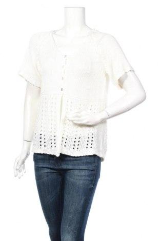Дамска жилетка Soya Concept, Размер L, Цвят Бял, 100% акрил, Цена 25,20лв.