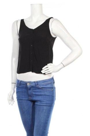 Дамска риза Edited, Размер S, Цвят Черен, 100% вискоза, Цена 14,40лв.