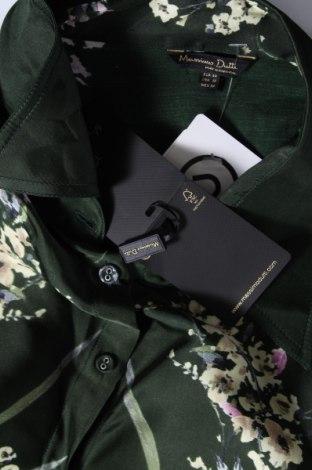 Дамска риза Massimo Dutti, Размер XL, Цвят Зелен, Вискоза, Цена 51,75лв.