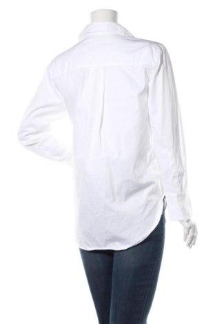 Дамска риза Massimo Dutti, Размер XS, Цвят Бял, Памук, Цена 41,40лв.