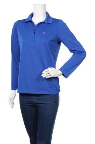 Дамска спортна блуза Alberto, Размер M, Цвят Син, Полиестер, Цена 7,09лв.