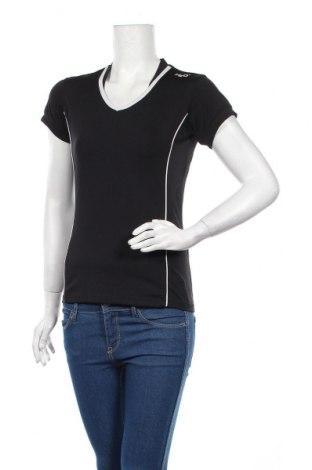 Дамска тениска H2O, Размер XS, Цвят Черен, 88% полиестер, 12% еластан, Цена 5,75лв.