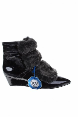 Γυναικεία μποτάκια Geox, Μέγεθος 36, Χρώμα Μαύρο, Γνήσιο δέρμα, Τιμή 112,89€