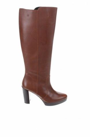 Γυναικείες μπότες Estefania Marco, Μέγεθος 40, Χρώμα Καφέ, Γνήσιο δέρμα, Τιμή 78,35€
