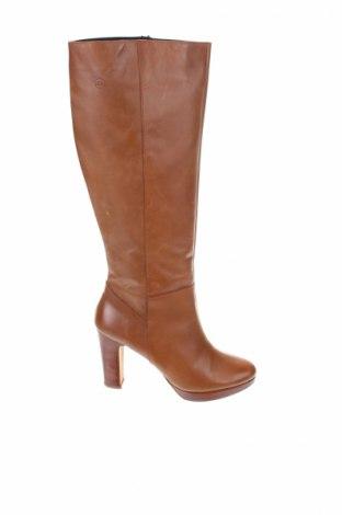 Γυναικείες μπότες Estefania Marco, Μέγεθος 40, Χρώμα Καφέ, Γνήσιο δέρμα, Τιμή 81,44€