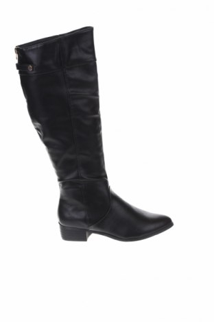 Γυναικείες μπότες Mohito, Μέγεθος 38, Χρώμα Μαύρο, Δερματίνη, Τιμή 57,73€