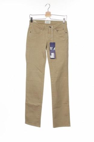 Дамски дънки Jeckerson, Размер S, Цвят Бежов, 97% памук, 3% еластан, Цена 83,98лв.