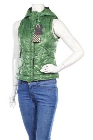 Дамски елек Zara Trafaluc, Размер S, Цвят Зелен, Цена 36,00лв.
