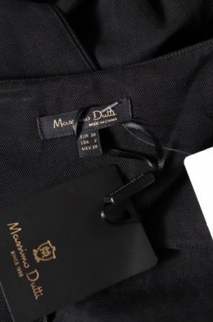 Дамски гащеризон Massimo Dutti, Размер XS, Цвят Черен, 70% лиосел, 30% лен, Цена 51,48лв.