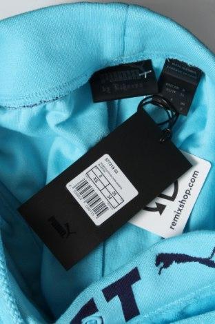 Дамски къс панталон Fenty Puma by Rihanna, Размер XS, Цвят Син, 80% памук, 20% полиестер, Цена 126,75лв.