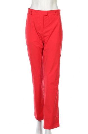 Дамски панталон J.Lindeberg, Размер XL, Цвят Червен, Полиестер, Цена 77,40лв.