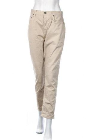 Дамски панталон AllSaints, Размер L, Цвят Бежов, 98% памук, 2% еластан, Цена 14,90лв.