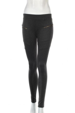 Дамски панталон Ardene, Размер S, Цвят Сив, 74% вискоза, 23% полиестер, 3% еластан, Цена 27,04лв.