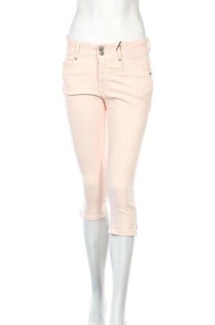 Дамски панталон Soya Concept, Размер M, Цвят Розов, 74% памук, 24% полиестер, 2% еластан, Цена 46,93лв.