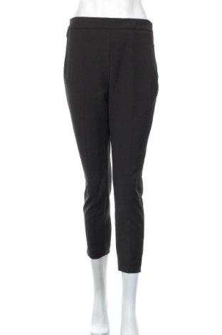 Дамски панталон Zara, Размер L, Цвят Черен, 65% полиамид, 24% полиестер, 11% еластан, Цена 36,04лв.