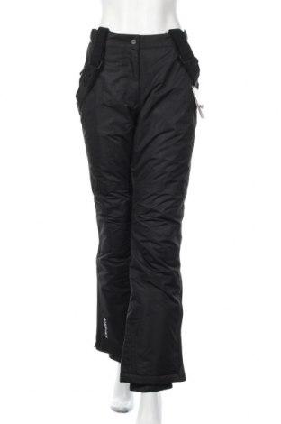 Дамски панталон за зимни спортове Icepeak, Размер S, Цвят Черен, Полиестер, Цена 40,92лв.