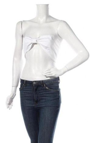 Γυναικείο αμάνικο μπλουζάκι Nasty Gal, Μέγεθος S, Χρώμα Λευκό, 70% βισκόζη, 30% λινό, Τιμή 5,32€