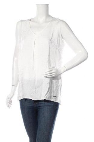 Γυναικείο αμάνικο μπλουζάκι Broadway, Μέγεθος L, Χρώμα Λευκό, Βισκόζη, Τιμή 4,91€