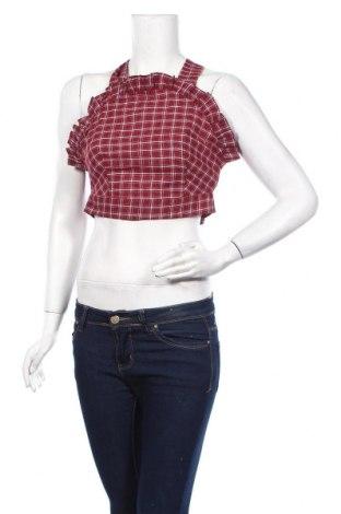 Γυναικείο αμάνικο μπλουζάκι Fashion Union, Μέγεθος M, Χρώμα Κόκκινο, 65% βαμβάκι, 35% πολυεστέρας, Τιμή 6,27€
