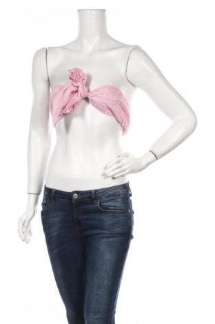 Γυναικείο αμάνικο μπλουζάκι Nasty Gal, Μέγεθος M, Χρώμα Ρόζ , 50% βαμβάκι, 50% πολυεστέρας, Τιμή 5,32€