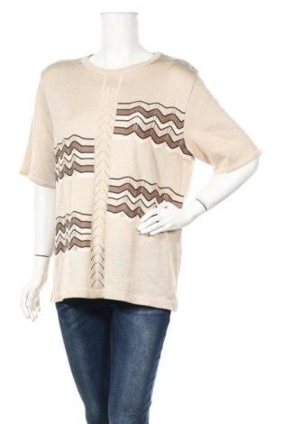 Γυναικείο πουλόβερ Canda, Μέγεθος XL, Χρώμα  Μπέζ, Ακρυλικό, Τιμή 13,64€