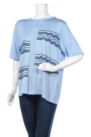 Γυναικείο πουλόβερ Canda, Μέγεθος XL, Χρώμα Μπλέ, Ακρυλικό, Τιμή 14,29€