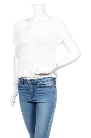 Дамски пуловер J.Jill, Размер XS, Цвят Бял, 75% памук, 13% полиестер, 12% полиамид, Цена 3,00лв.