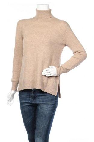 Γυναικείο πουλόβερ Massimo Dutti, Μέγεθος XL, Χρώμα Καφέ, 95% μαλλί, 5% κασμίρι, Τιμή 45,88€