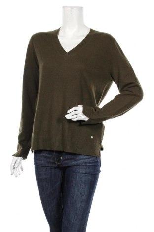 Γυναικείο πουλόβερ Massimo Dutti, Μέγεθος XL, Χρώμα Πράσινο, Κασμίρι, Τιμή 66,49€
