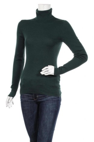 Γυναικείο πουλόβερ Massimo Dutti, Μέγεθος M, Χρώμα Πράσινο, 55% μετάξι, 45% μαλλί, Τιμή 45,88€