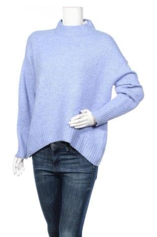 Γυναικείο πουλόβερ Massimo Dutti, Μέγεθος M, Χρώμα Μπλέ, 47%ακρυλικό, 31% πολυαμίδη, 18% μαλλί, 4% ελαστάνη, Τιμή 42,27€