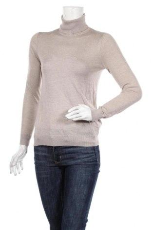 Γυναικείο πουλόβερ Massimo Dutti, Μέγεθος S, Χρώμα Γκρί, 55% μετάξι, 45% μαλλί, Τιμή 31,96€