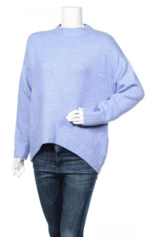 Γυναικείο πουλόβερ Massimo Dutti, Μέγεθος M, Χρώμα Μπλέ, 47%ακρυλικό, 31% πολυαμίδη, 18% μαλλί, 4% ελαστάνη, Τιμή 45,88€