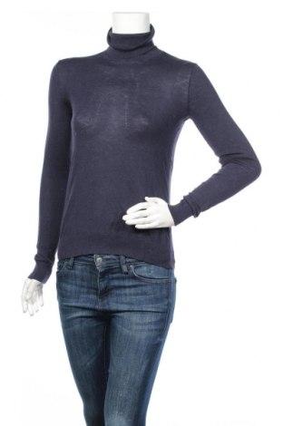 Дамски пуловер Massimo Dutti, Размер S, Цвят Син, Цена 42,16лв.