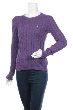 Γυναικείο πουλόβερ Polo By Ralph Lauren, Μέγεθος S, Χρώμα Βιολετί, Βαμβάκι, Τιμή 47,42€