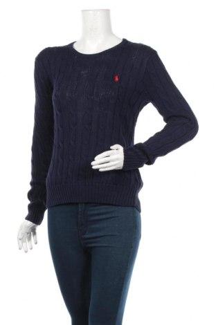 Γυναικείο πουλόβερ Polo By Ralph Lauren, Μέγεθος L, Χρώμα Μπλέ, Βαμβάκι, Τιμή 47,42€