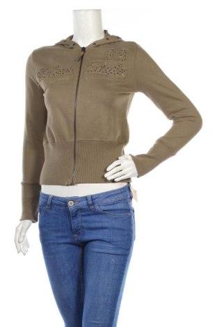 Дамски суичър Kenvelo, Размер XS, Цвят Зелен, 100% памук, Цена 8,50лв.