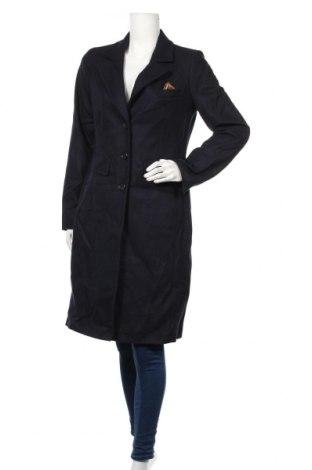 Damski płaszcz Comma,, Rozmiar S, Kolor Niebieski, 65% wełna, 21% poliester, 11% poliakryl, 3% inny materiał, Cena 647,50zł
