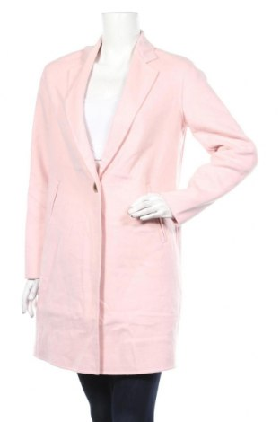 Damski płaszcz Comma,, Rozmiar S, Kolor Różowy, 45% wełna, 40% poliester, 15% wiskoza, Cena 645,00zł