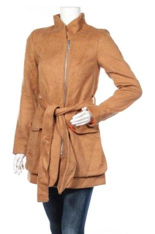 Damski płaszcz Fashion hero by S.Oliver, Rozmiar XS, Kolor Brązowy, Cena 447,50zł