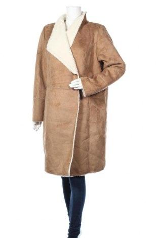 Damski płaszcz S.Oliver, Rozmiar XL, Kolor Brązowy, Poliester, Cena 422,50zł
