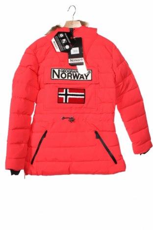 Kurtka damska Geographical Norway, Rozmiar S, Kolor Różowy, Poliester, Cena 547,50zł