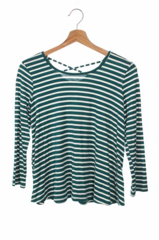 Детска блуза, Размер 13-14y/ 164-168 см, Цвят Зелен, 95% рамия, 5% еластан, Цена 7,35лв.