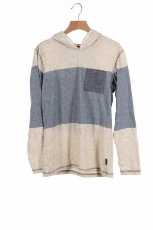 Детска блуза, Размер 9-10y/ 140-146 см, Цвят Бежов, 60% памук, 40% полиестер, Цена 7,35лв.