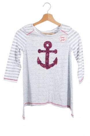 Детска блуза, Размер 10-11y/ 146-152 см, Цвят Бял, 60% памук, 40% полиестер, Цена 7,35лв.