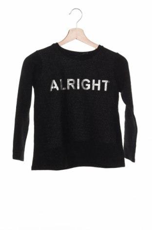 Детска блуза, Размер 10-11y/ 146-152 см, Цвят Черен, Цена 4,73лв.