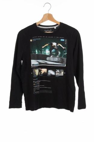 Детска блуза, Размер 12-13y/ 158-164 см, Цвят Черен, Цена 12,50лв.
