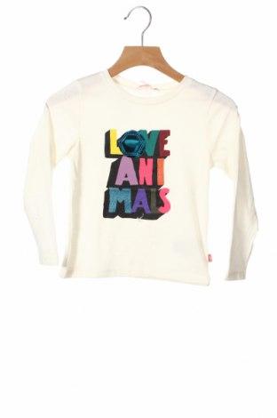 Детска блуза Billieblush, Размер 2-3y/ 98-104 см, Цвят Екрю, 65% полиестер, 335% памук, Цена 19,00лв.