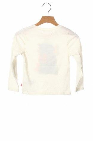 Детска блуза Billieblush, Размер 2-3y/ 98-104 см, Цвят Екрю, 65% полиестер, 335% памук, Цена 28,50лв.