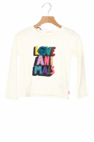 Детска блуза Billieblush, Размер 4-5y/ 110-116 см, Цвят Екрю, 65% полиестер, 35% памук, Цена 28,50лв.